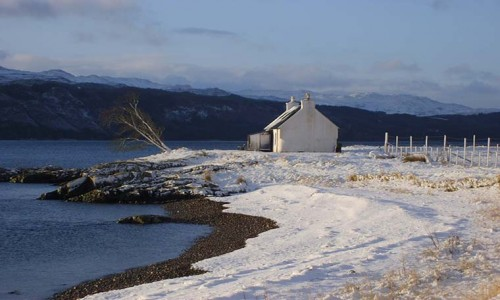 House on the Point Self Catering Accommodation Kylerhea Skye