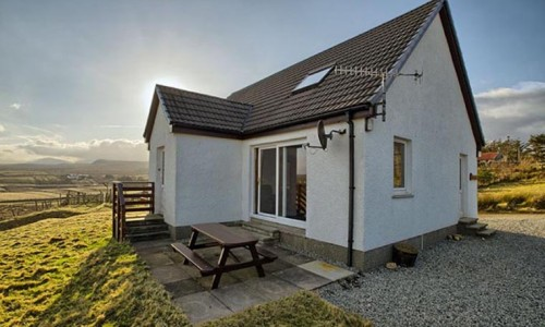 Wavecrest Chalet Self Catering Accommodation Staffin Skye
