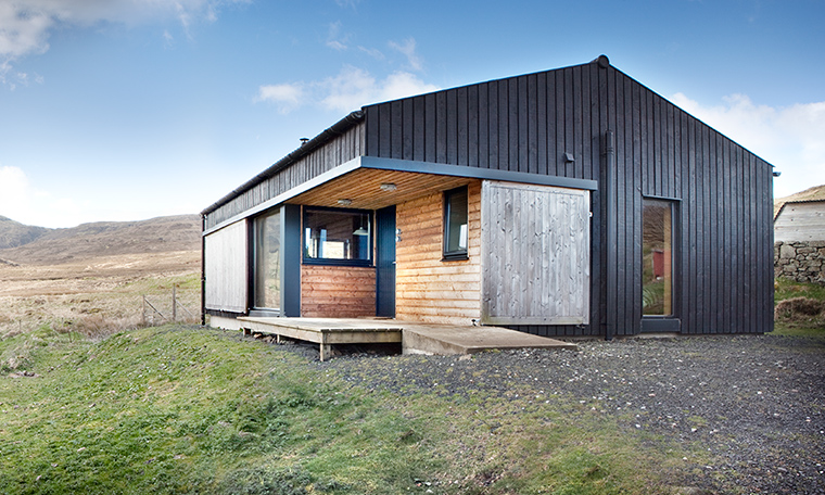 The Black Shed Skye Self Catering Acommodation