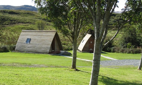 Portnalong Wigwam Self Catering Camping Accommodation Skye