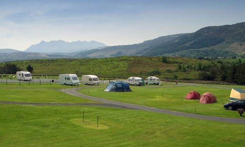 Torvaig Campsite Camping Accommodation Skye